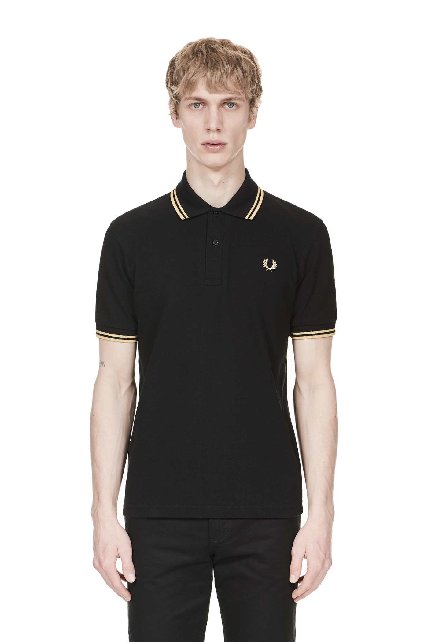 Fred Perry - M12 Black / Champagne / Champagne