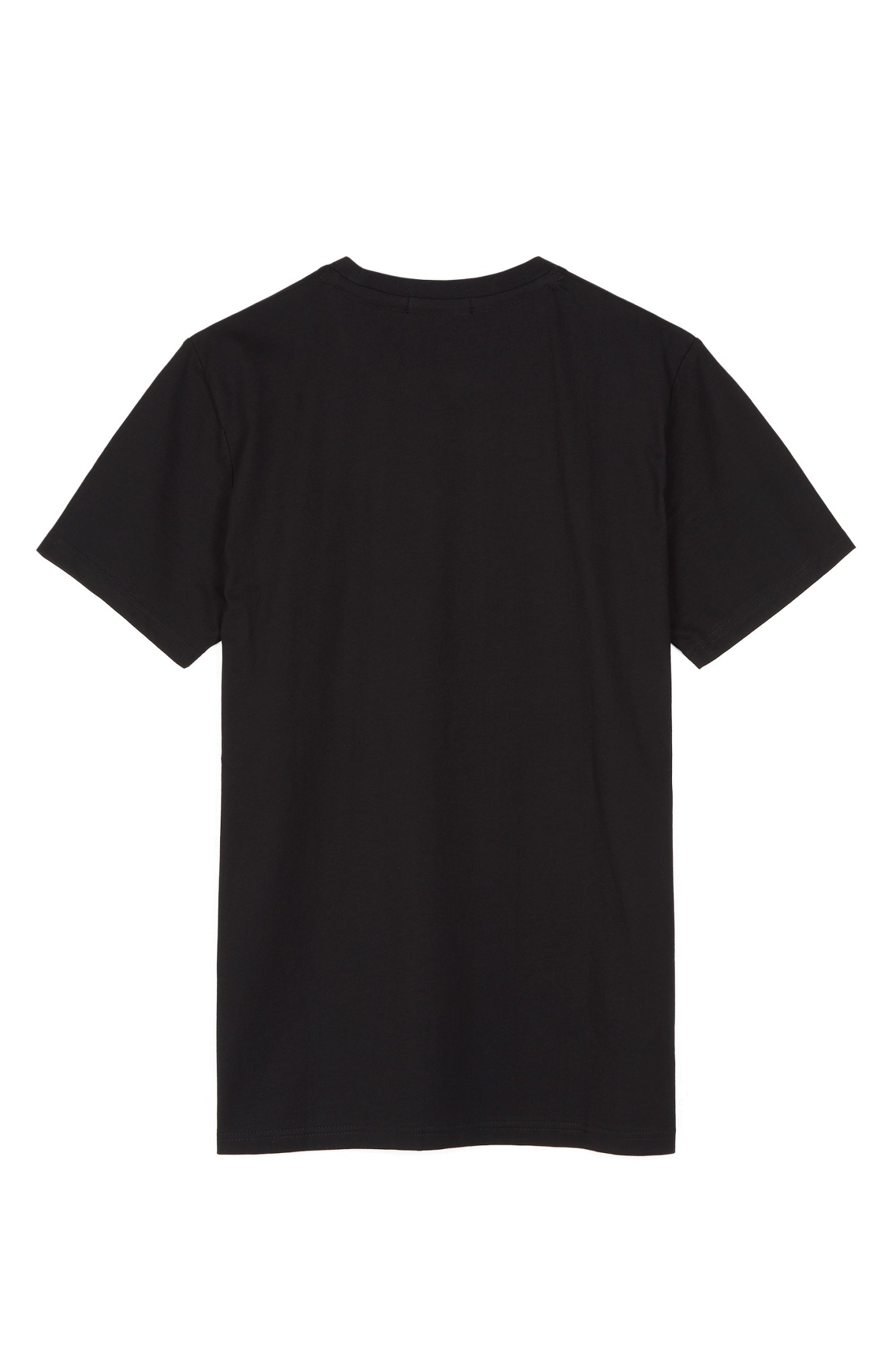 Fred perry crew neck t shirt black for T shirt sprüche m nner
