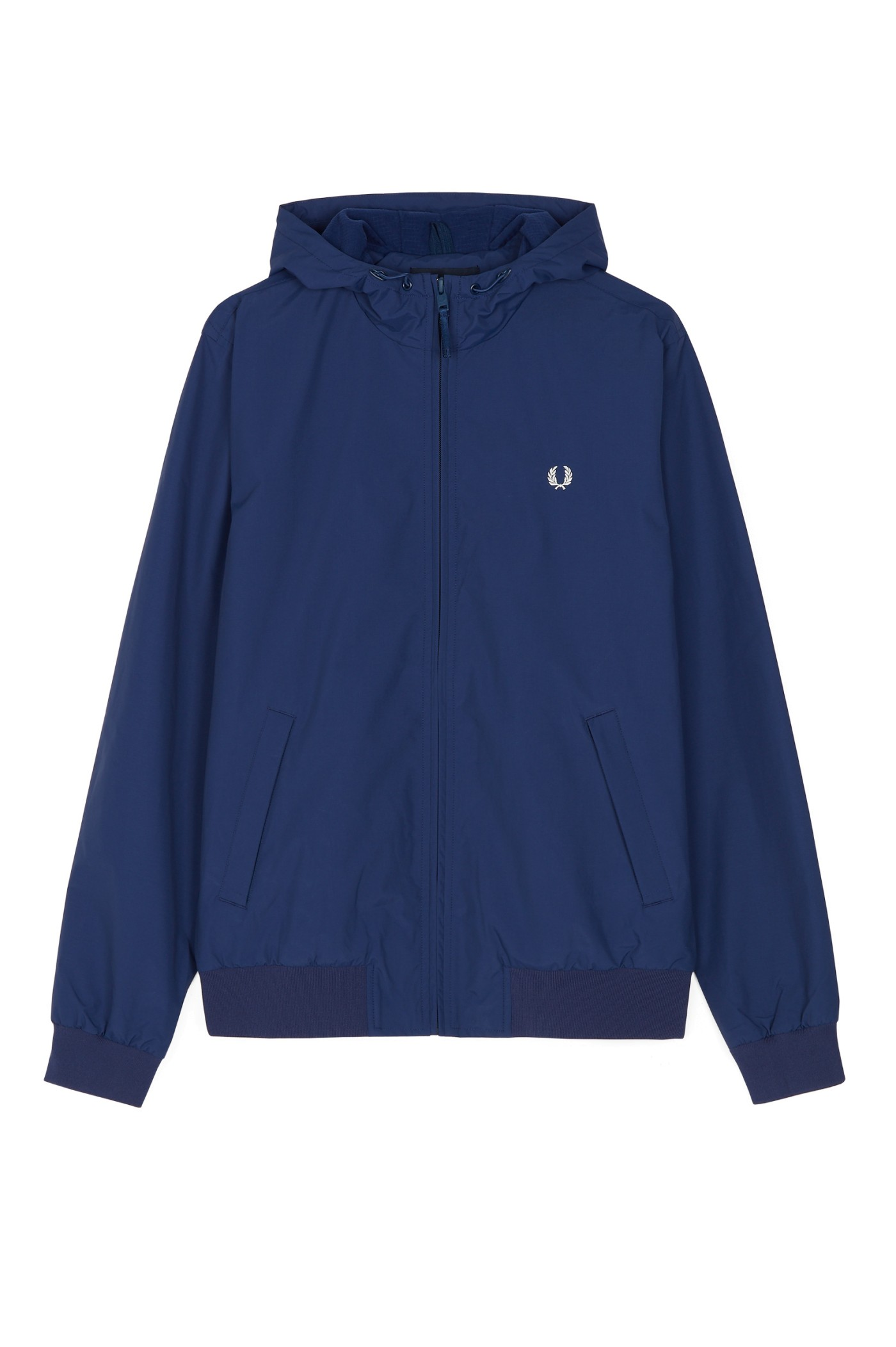 Fred Perry - Hooded Brentham Jacket Medieval Blue