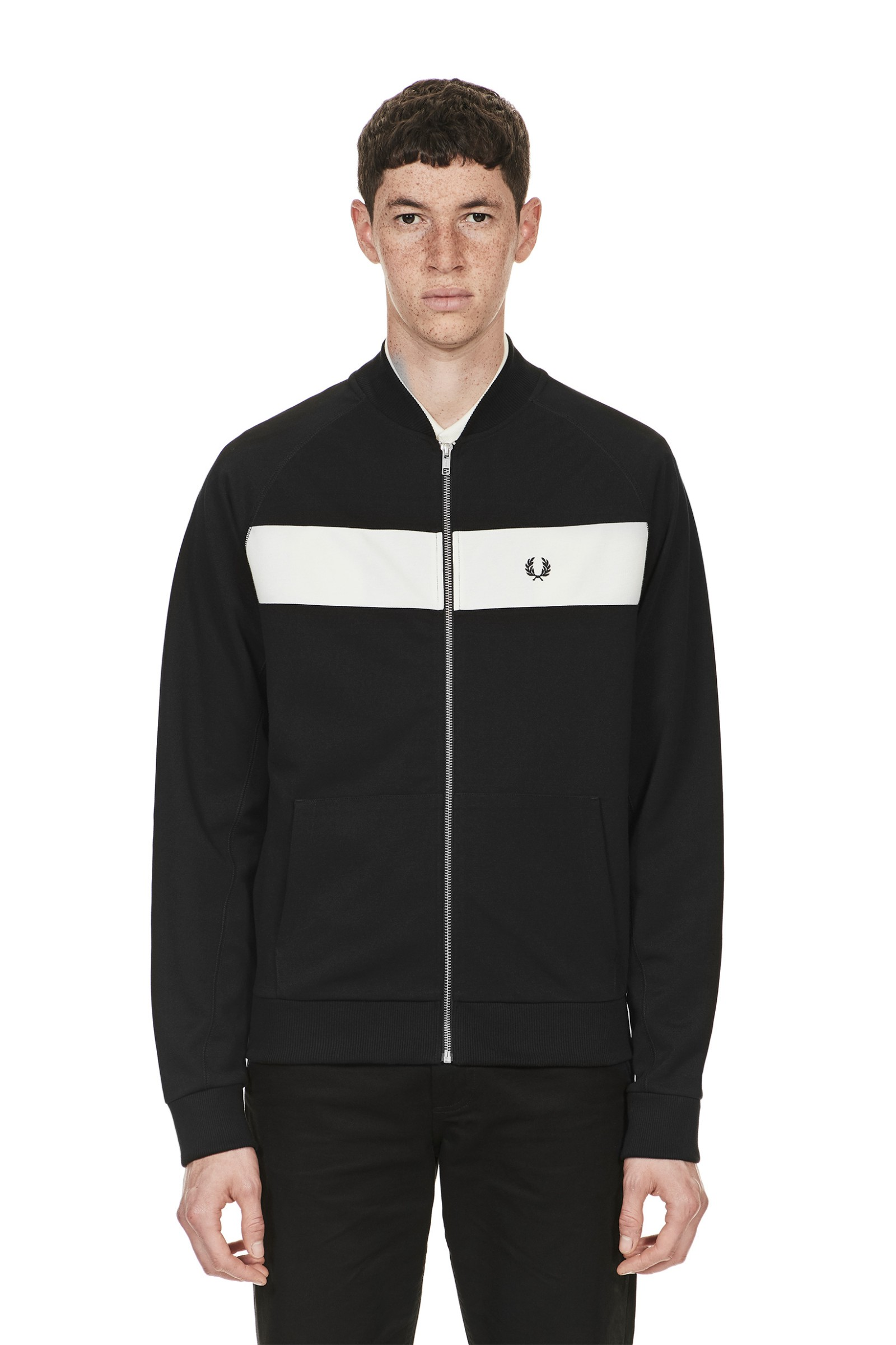 Reverse Tricot Track Jacket