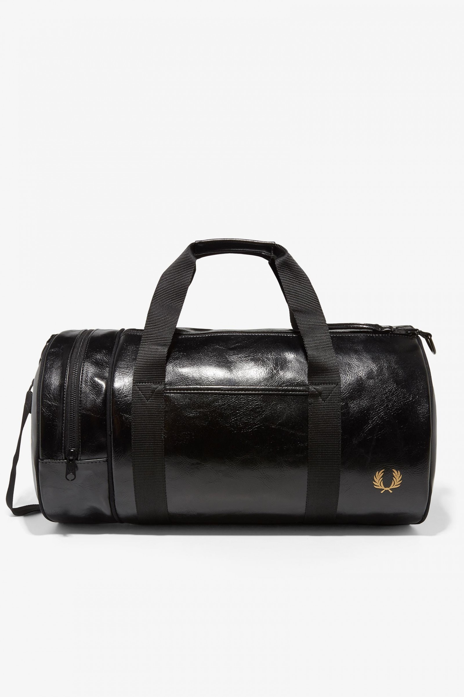 23fc1742ae48 Classic Barrel Bag - Black   Gold