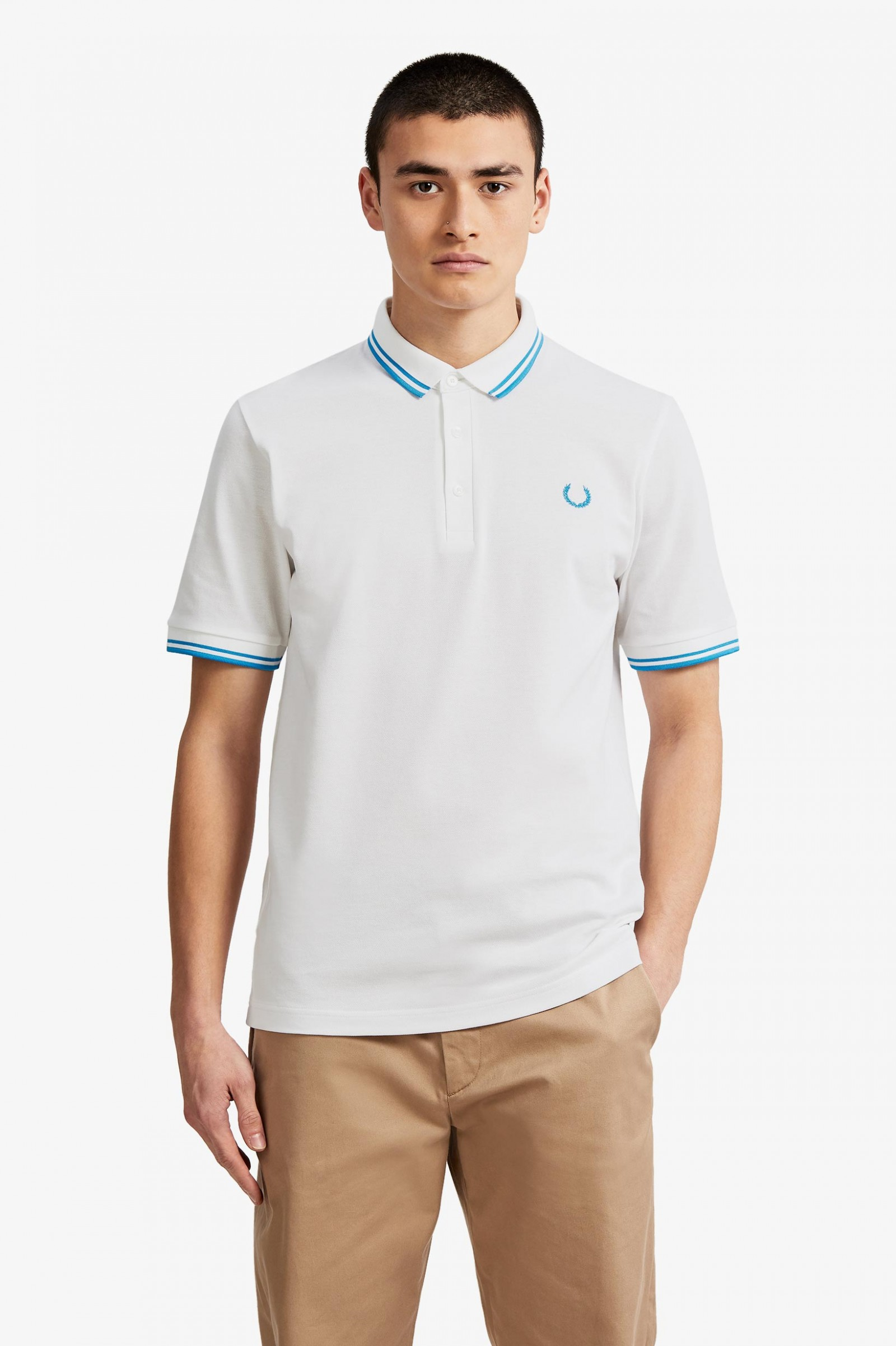 Men's Clothing Inventive Fred Perry Polo Shirt Shirts & Tops