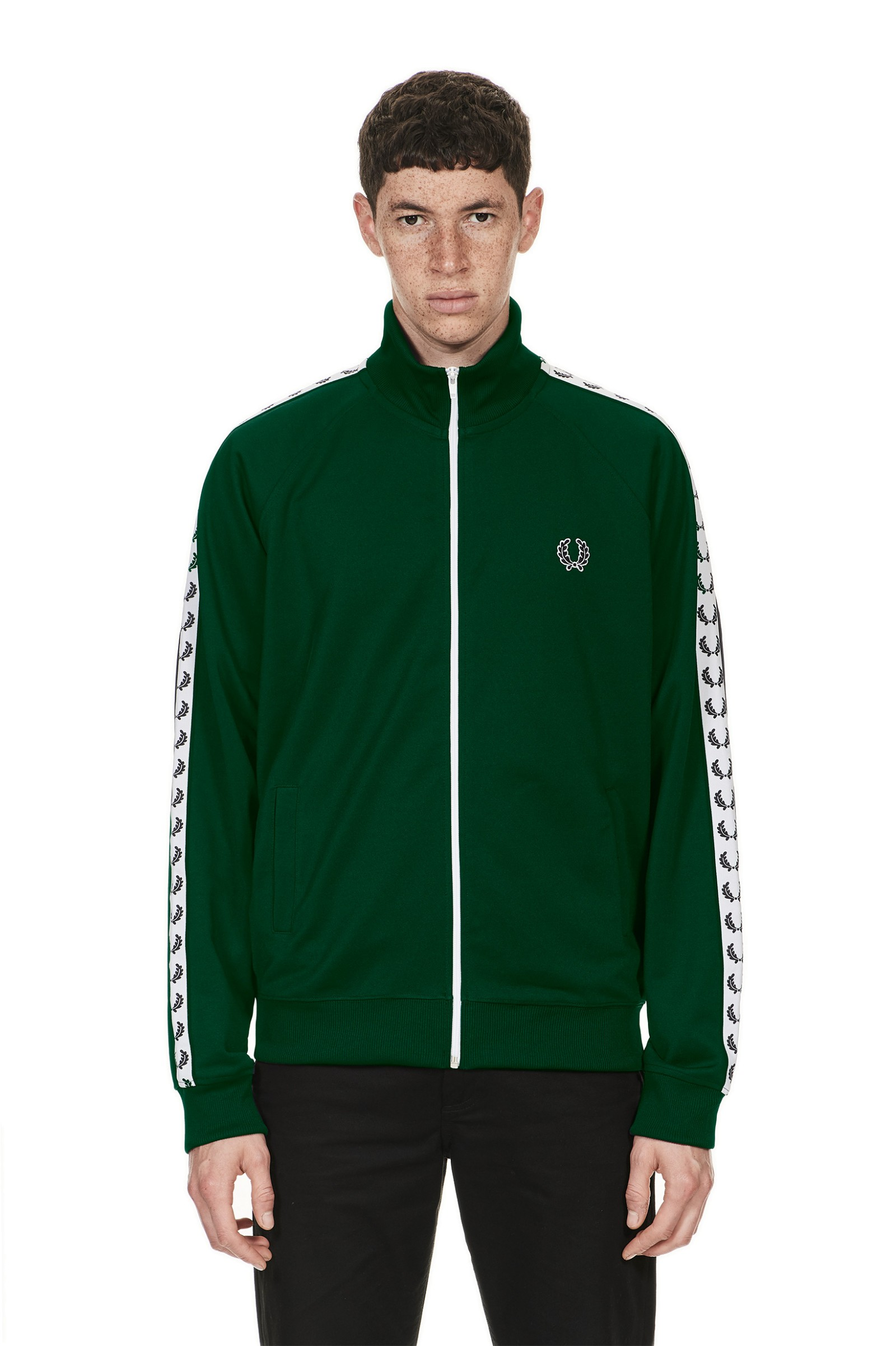 Sports Authentic Taped Track Jacket