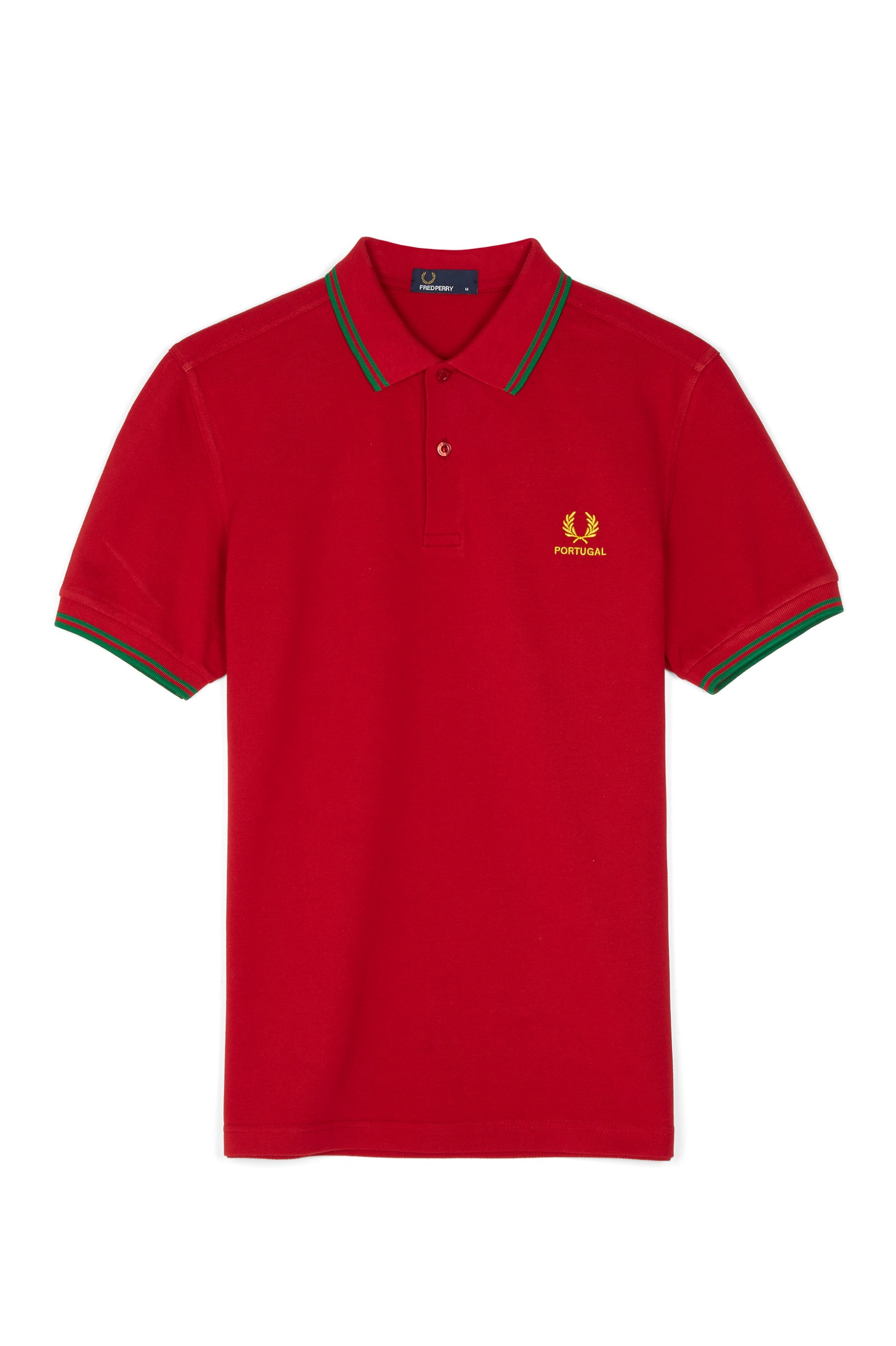 Fred Perry - Portugal - Polo - Rouge - Rouge p6RaxG