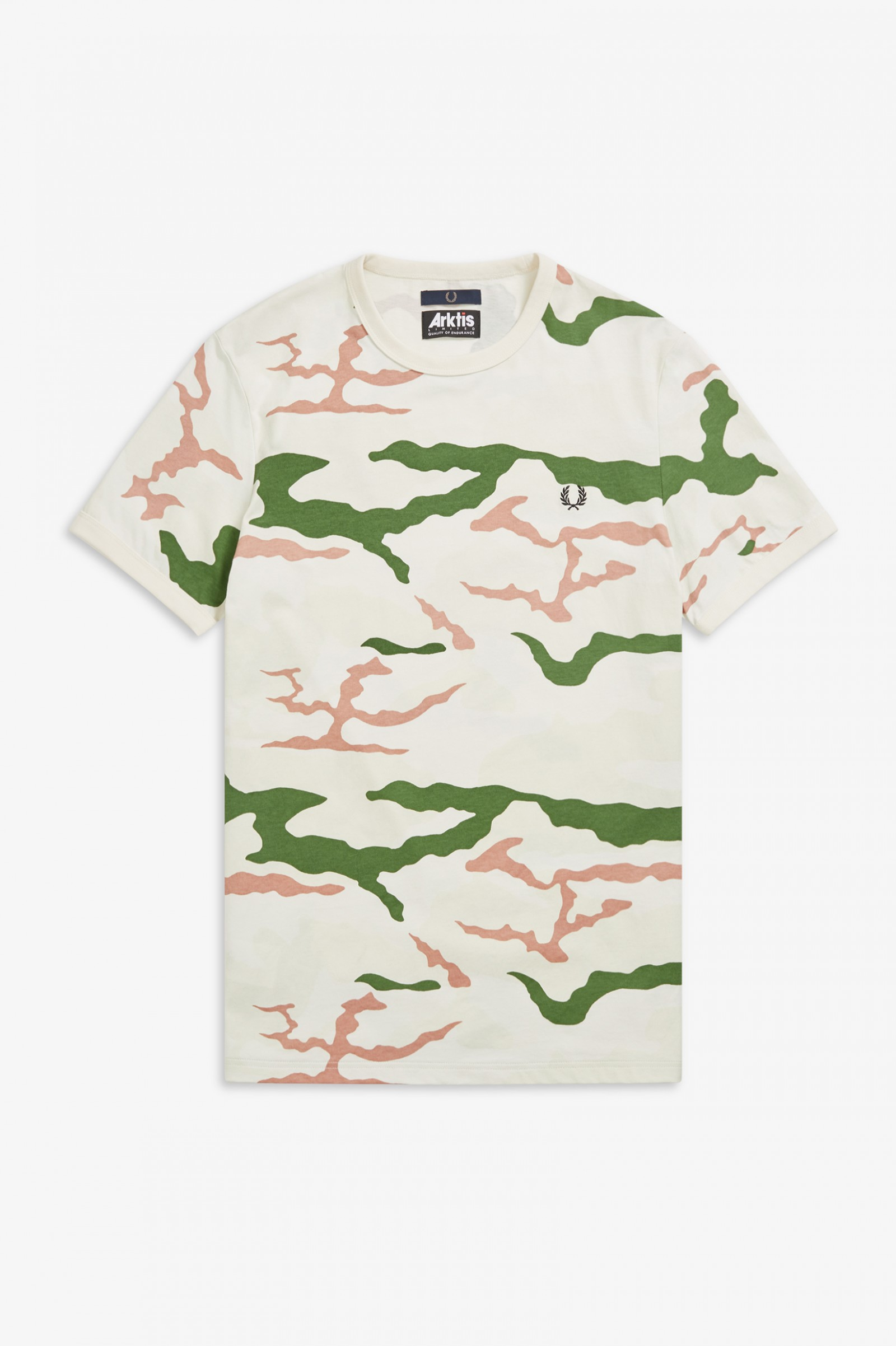11bce663d Camouflage T-Shirt - Tundra Camo   T-Shirts   Fred Perry US