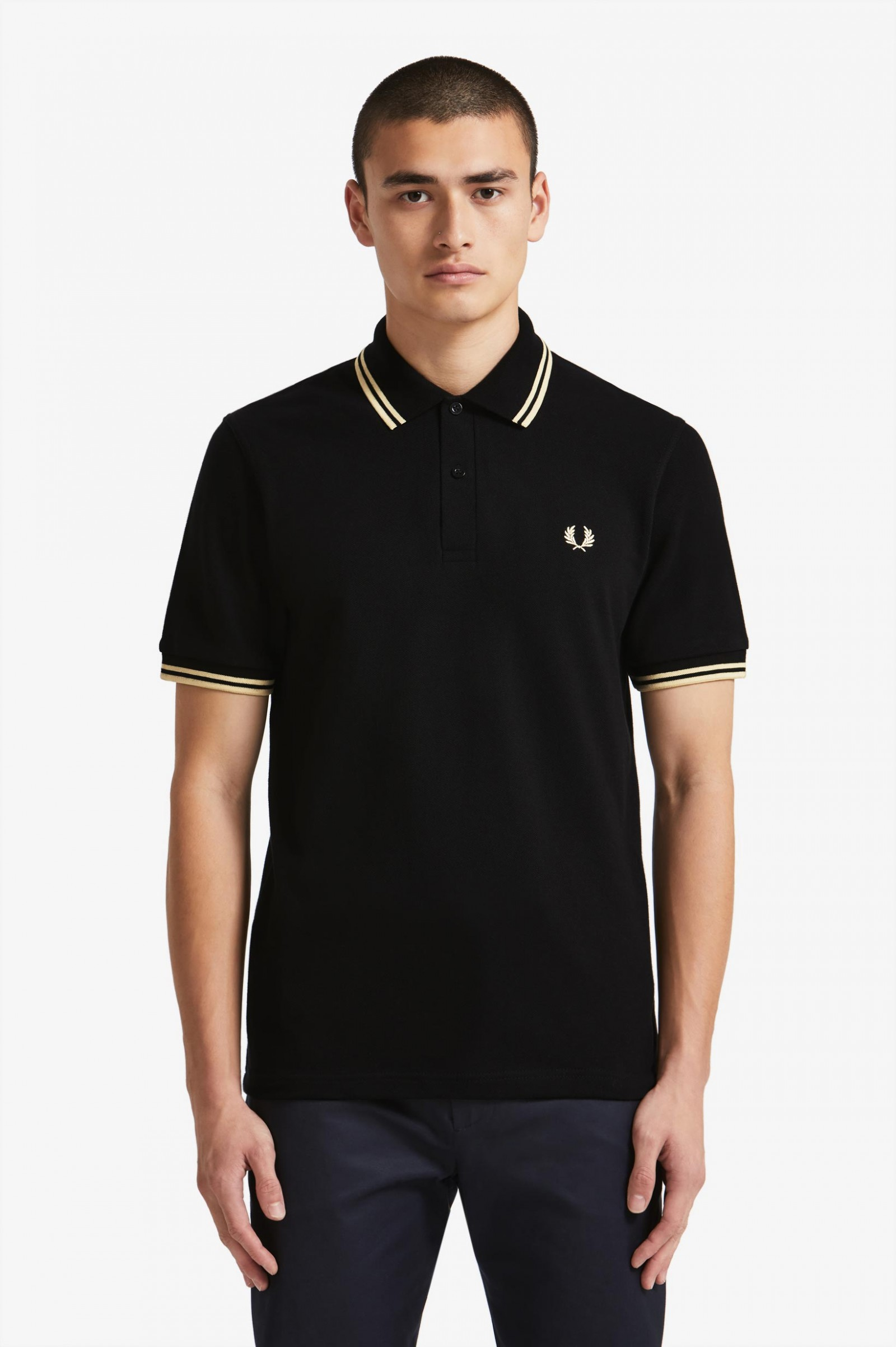 m12 black champagne champagne the fred perry shirt. Black Bedroom Furniture Sets. Home Design Ideas