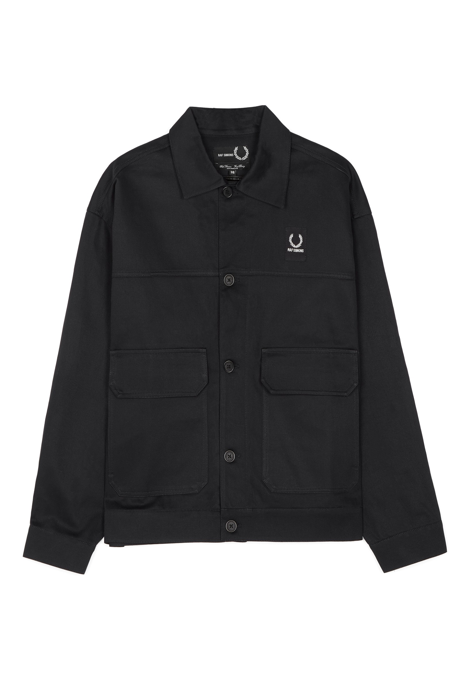 Raf Simons Made In England Taped Detail Jacket