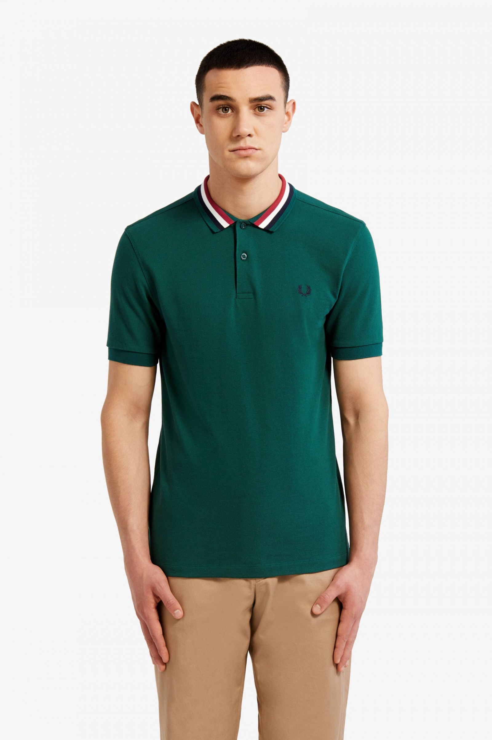 057dd9b7 M3600 - Cornsilk / Snow White / Snow White | The Fred Perry Shirt ...