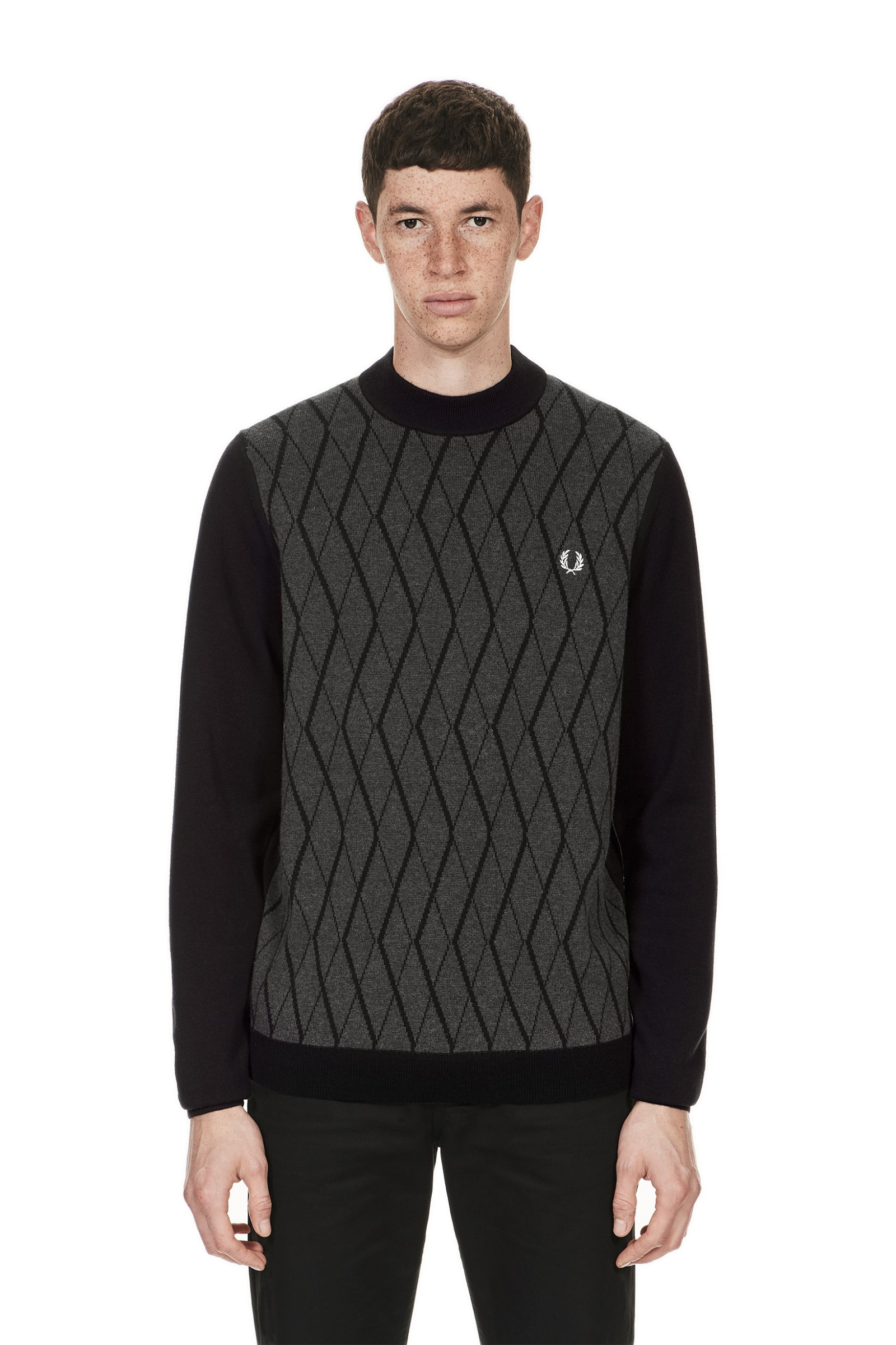 Tonal Turtle Neck Jumper